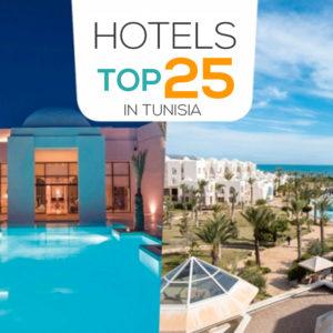 Top 25 Hotels In Tunisia