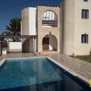 Charmante villa titre bleu à Djerba Midoun à côté de la plage