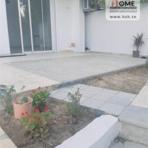 Rez-de-chaussée de villa au jardin de Carthage