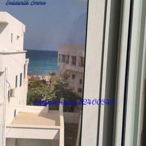 Appartement S+2 meublé et climatisé à kelibia mansourah