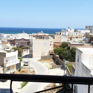 Appartement vue sur mer à cité el hana