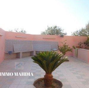 Villa en S+3 à Lakwech de Mahdia