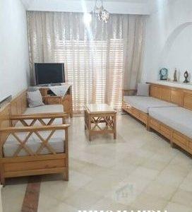 Appartement haut standing meublé en «S+2» situé à Zone Touristique de Mahdia