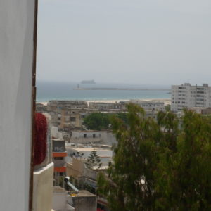 Appartement avec vue mer à Raouebi