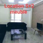 Photo-1 : Appartement luxueusement meublé S +2 coté begin