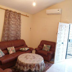 étage de villa meublé à bhira bizerte
