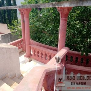 Étage de villa à la Corniche bizerte L193