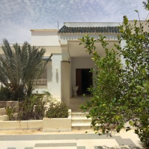 Villa sur un terrain de 1500 m²