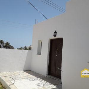Studio vue sur mer à la lagune Tezdaine Djerba
