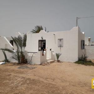 Maison S+1 meublée à Djerba Tezadine