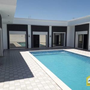 Villa de haut standing avec piscine, titre bleu à Djerba Midoun