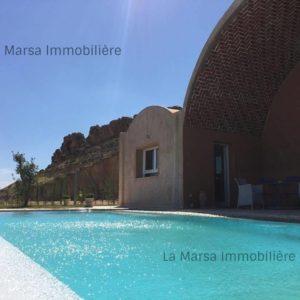 Villa avec piscine à Hammamet, El Monchar