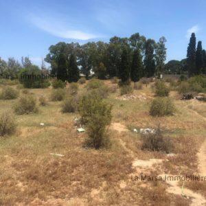 Terrain de 5000 m² à Chotrana 3 coté El Firma
