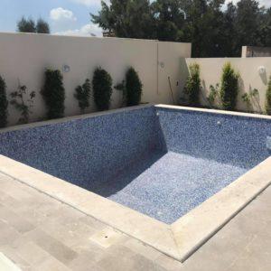 Villa S4 avec piscine sur la route du relais