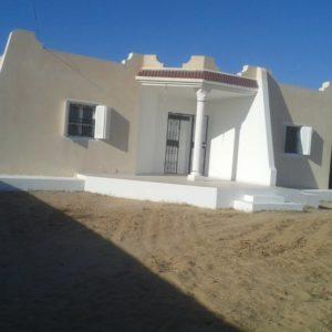 Villa S+2 non meublée à Djerba Midoun Tunis