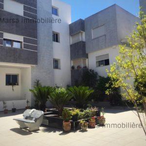 Appartement S+3 meublé à Cité El Khalil, la Marsa