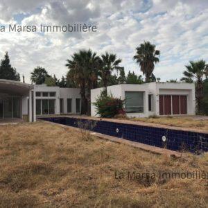 Villa plain pied avec piscine à Boumhal