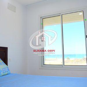 Appartement rejich pied dans l'eau avec vue sur mer pour vacance