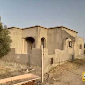 Villa inachevée à Djerba Tezdaine Tunisie