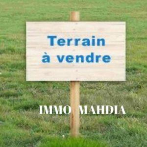 Terrain titré de superficie 140 m² situé Mnekaa de Mahdia