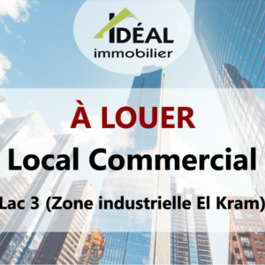 Local commercial au cœur du Lac 3