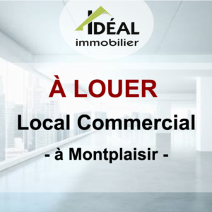 Local commercial à Montplaisir