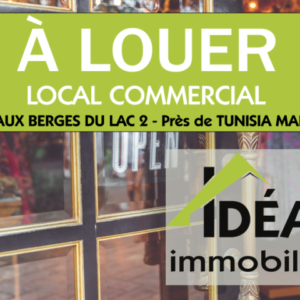 Local commercial au Lac 2