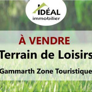 Terrain de Loisirs de 1500 m² à Gammarth Zone Touristique