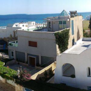 Étage de maison à 30 mètres de plage