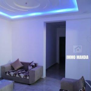 Appartement meublé en S+2 à Hiboun