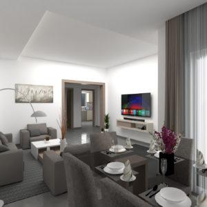 S+2 de 97 m² à AFH Mrezga