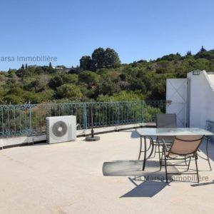 Triplex S+3 meublé avec terrasse à Sidi Bou Said