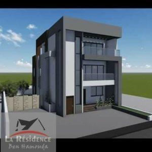 Immeuble de 3 appartements neuves à Ain Mariem M117