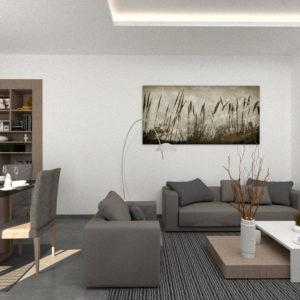 S+2 de 116 m² couvert et 14 m² de terrasse à AFH Mrezga