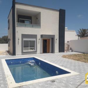 Villa de luxe avec piscine, titrée à Djerba Midoun