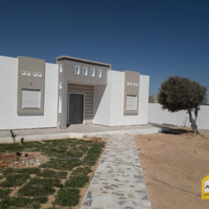 Villa titre bleu neuve proche centre ville Midoun Djerba
