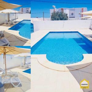 2 Maisons indépendantes + piscine proche de la mer à Tezdaine Djerba