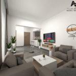 S+1 de 61 m² à AFH Mrezga
