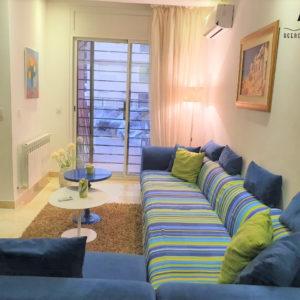 Appartement meublé S+2 en RDC à AFH Mrezga