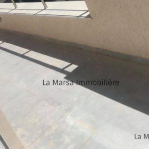 Appartement S2 avec terrasse à la Soukra