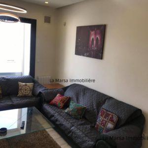 Appartement S2 richement meublé à Malaga, la Marsa