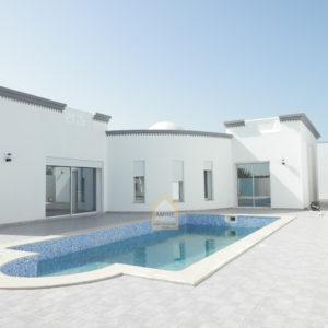 Villa de prestige avec piscine à Djerba Midoun