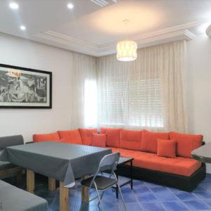 S+2 meublé en 2ème étage à Sidi Maouia, Nabeul.