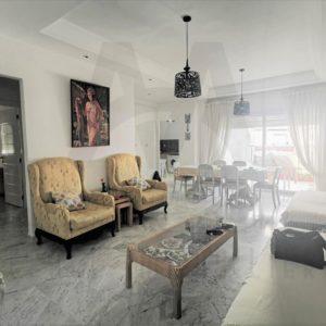 Appartement S+2 richement meublé à AFH Mrezga