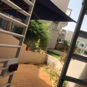 Appartement S3 avec jardin au début de la Soukra