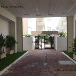 Appartement S+1 jamais habité à la Soukra