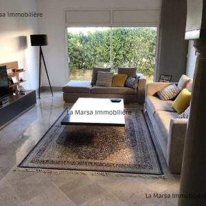 Appartement S3 avec jardin à la Marsa, Cité les Pins