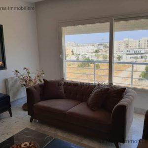 Appartement s3 avec vue dégagée au Jardin de Carthage