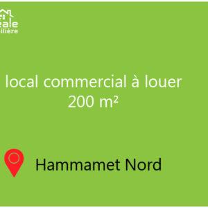 Local Invest à Hammamet Nord