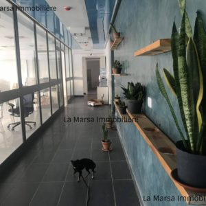 Espace bureautique de 620m² au début de la Soukra
